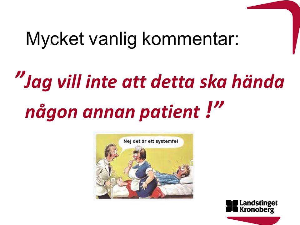 Är bemötande patientsäkerhet.