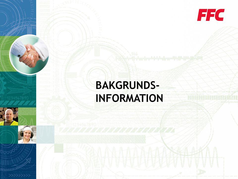 BAKGRUNDS- INFORMATION