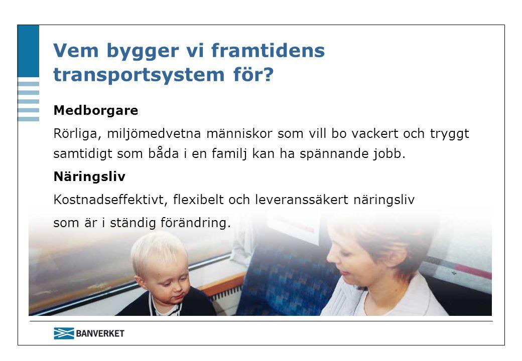 Vem bygger vi framtidens transportsystem för.