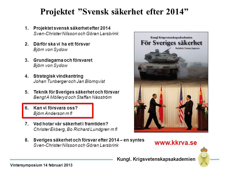Vad förmår dagens svenska försvar.