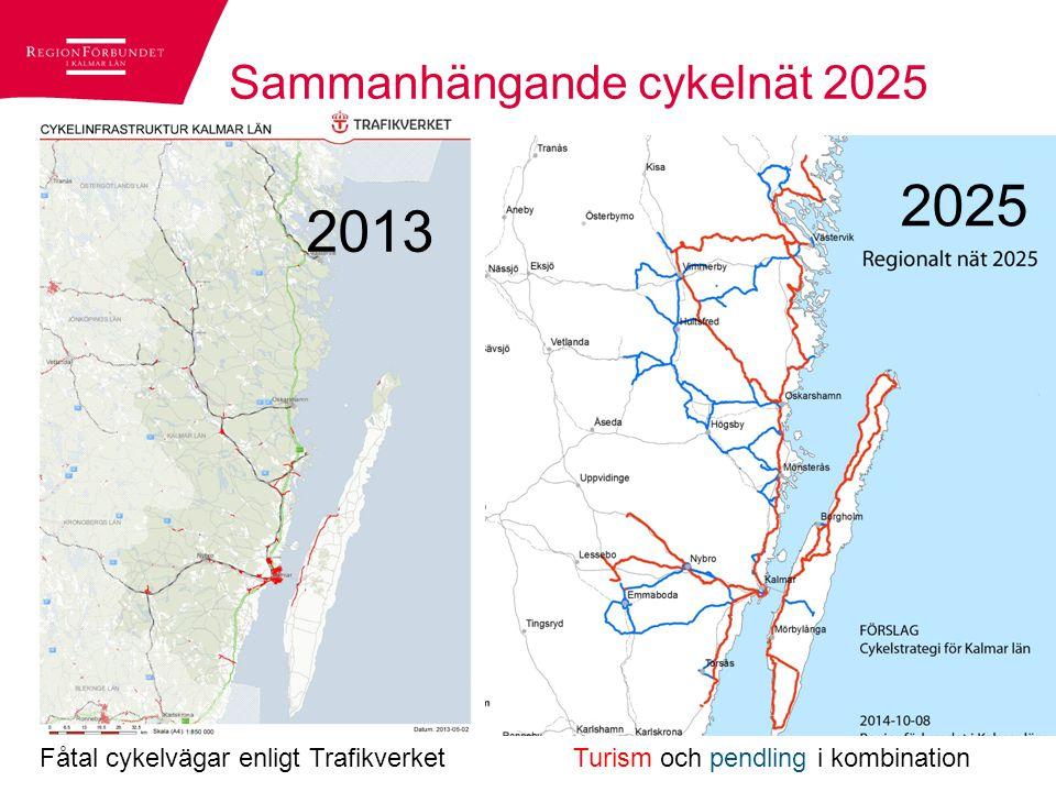 Gemensamt arbete i hela länet Samtliga kommuner trafikplanerare och kartingenjör KLT - länstrafiken Trafikverket Länsstyrelsen Regionförbundet Arbetet inleddes med cykelkonferens hösten 2012