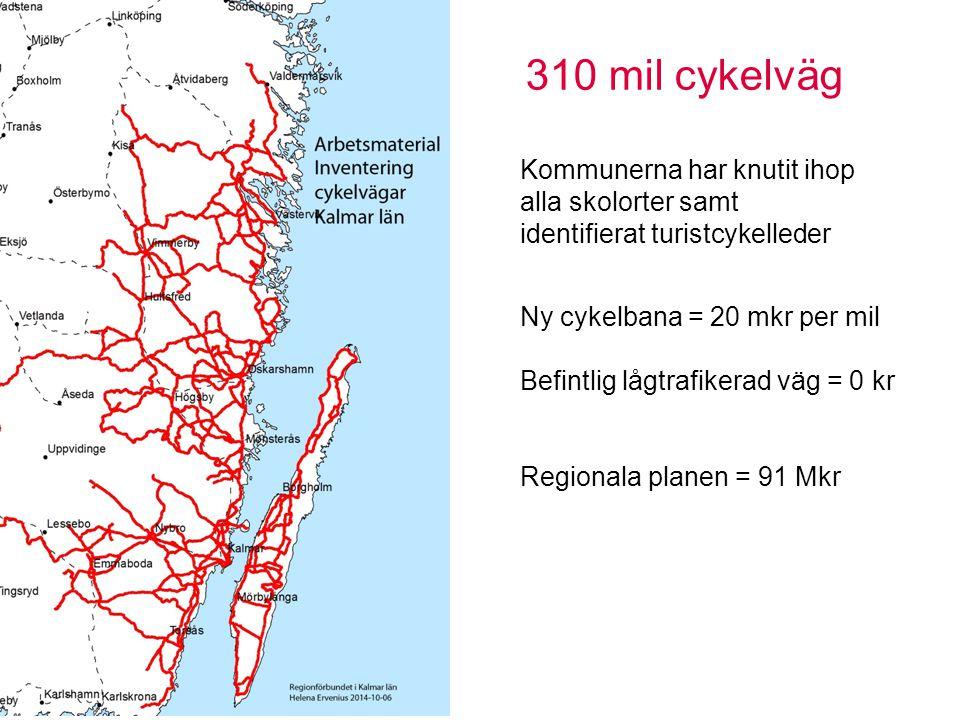 Pendling Sidan 8 Orter på två mils avstånd och som har en skola Viss prioritering efter tätortsstorlek Kan komma att justeras Trafiksäker omväg