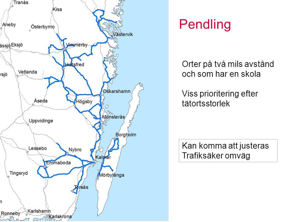 Turistleder Sidan 9 Nationellt intressant led Minst 20 mil Attraktiva områden Övernattning Matställen Specifikt hos oss Astrid Lindgren Kusterna Glasriket Kan komma att justeras Trafiksäker omväg