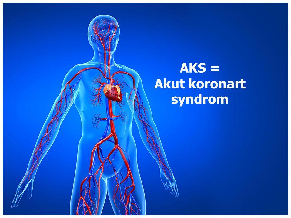 AKS = Akut koronart syndrom