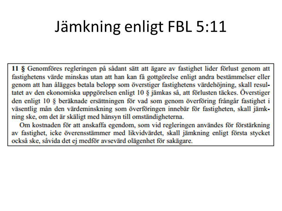 Jämkning enligt FBL 5:11