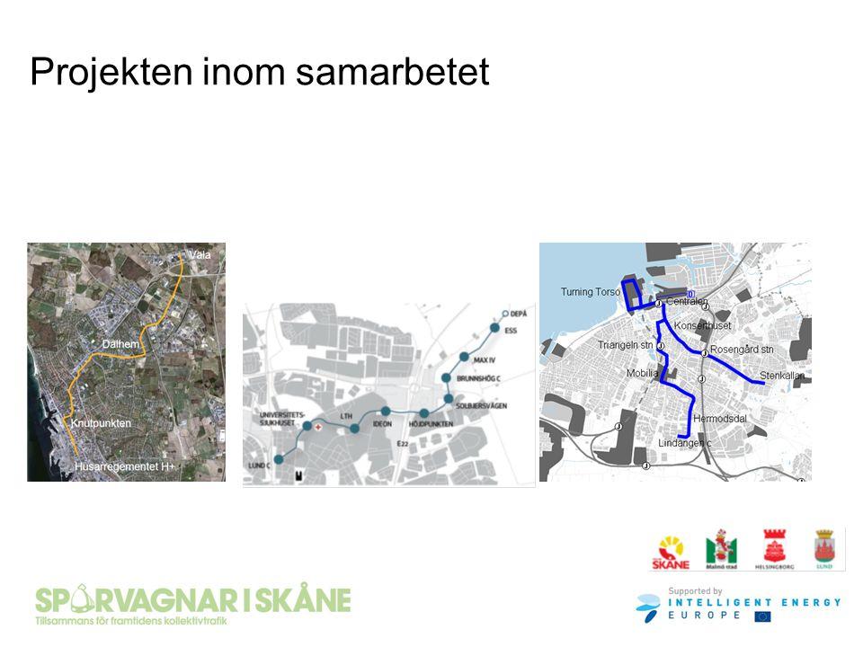Måluppfyllelse och samlad bedömning Spårväg Lund C – ESS uppfyller väl de uppsatta målen om att skapa en attraktiv stadsmiljö och en attraktiv kollektivtrafik Spårväg Lund C – ESS ger de bästa förutsättningarna för att utveckla Kunskapsstråket och Lund NE/Brunnshög De negativa effekterna/riskerna bedöms vara hanterbara, men måste studeras vidare i fortsatt planering