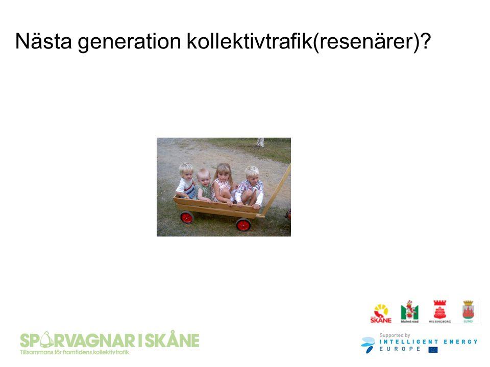 Nästa generation kollektivtrafik(resenärer)?