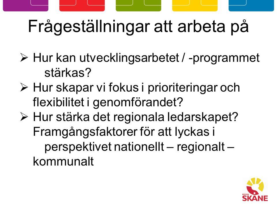 Flernivåstyrning eller vikten av samverkan EU – Europa 2020 Sverige – nationell strategi Skåne – utvecklingsprogram Kommuner – översiktsplaner, utvecklingsplaner FN – överenskommelser kring t ex barn och klimat
