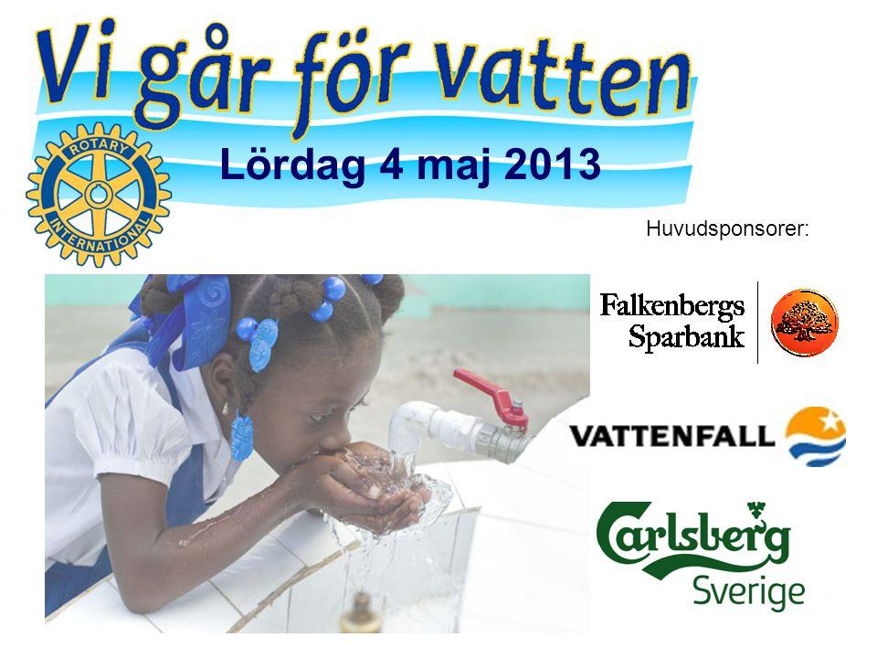 Huvudsponsorer: Lördag 4 maj 2013