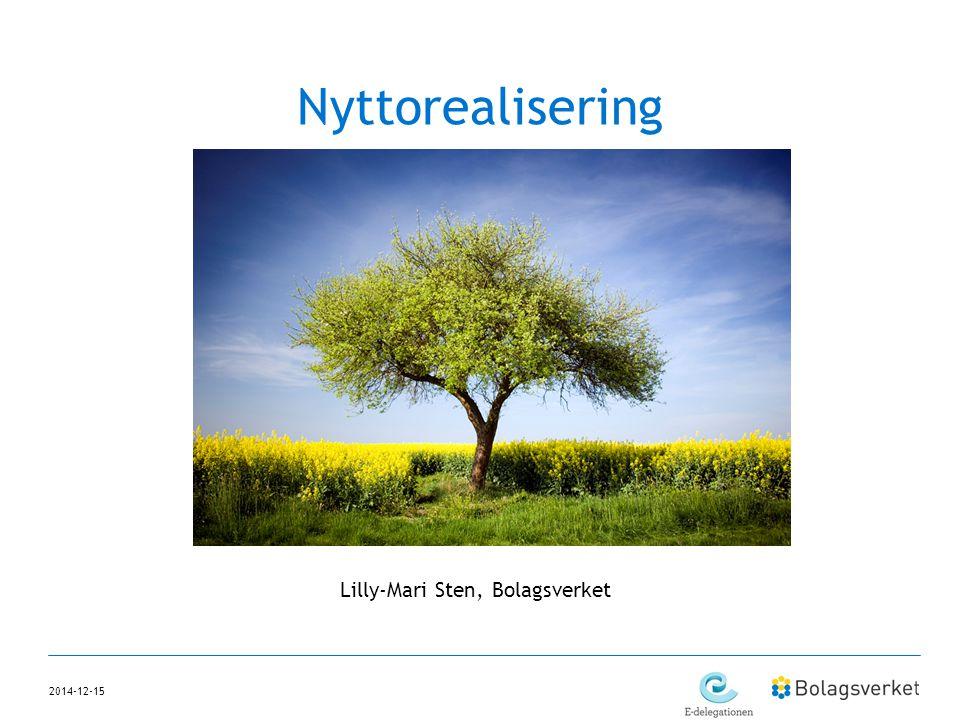 2014-12-15 Nyttorealisering Lilly-Mari Sten, Bolagsverket