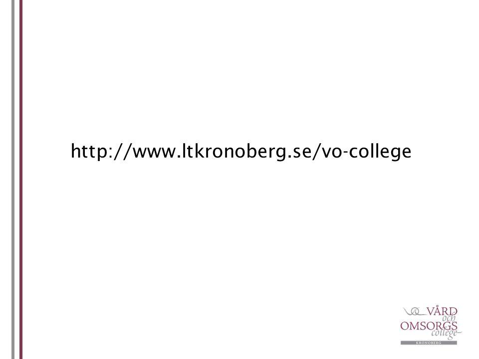http://www.ltkronoberg.se/vo-college