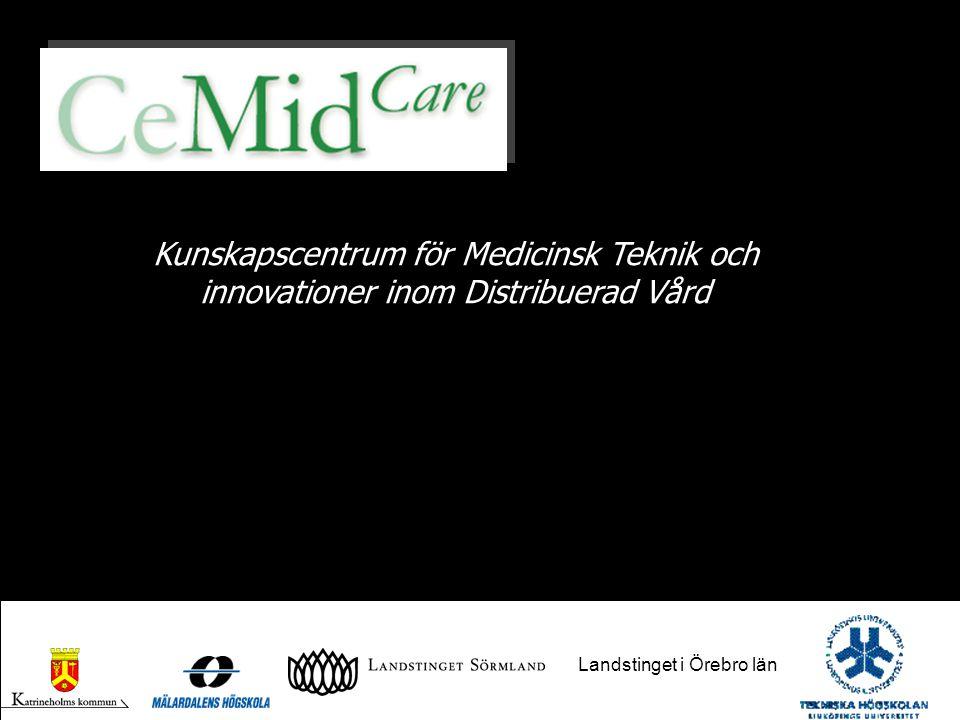 Kunskapscentrum för Medicinsk Teknik och innovationer inom Distribuerad Vård Landstinget i Örebro län