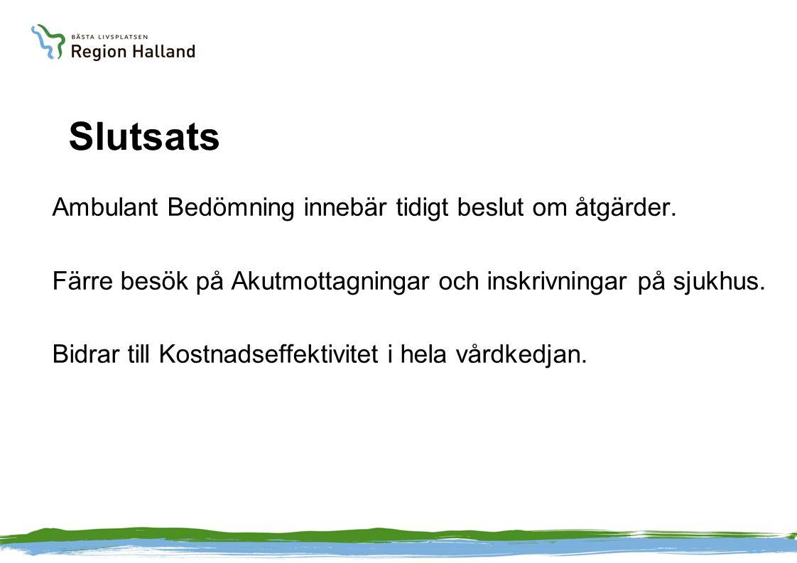 Ambulant bedömning 2012-2014n= 1037 Stanna Hemma80978 % Vårdcentral10310 % Akutmottagning12512 %