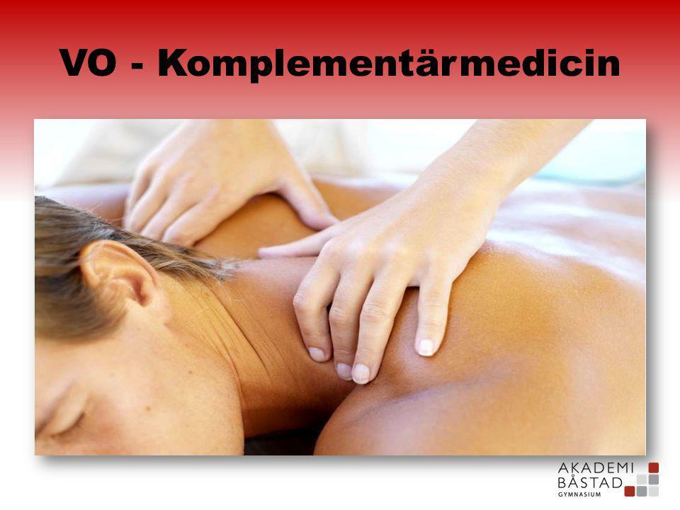VO - Komplementärmedicin