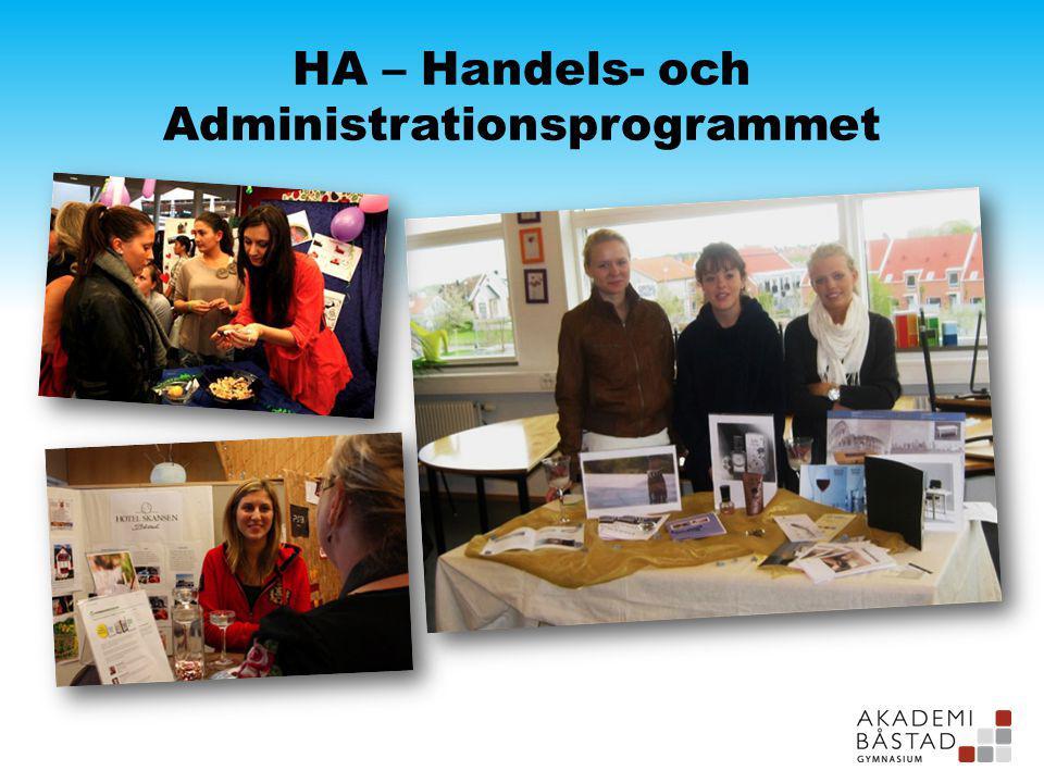 HA – Handels- och Administrationsprogrammet