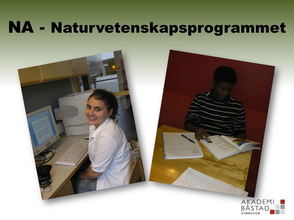 NA - Naturvetenskapsprogrammet