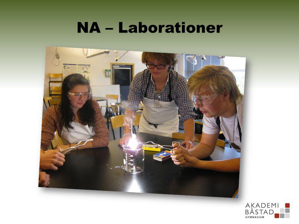 NA – Laborationer