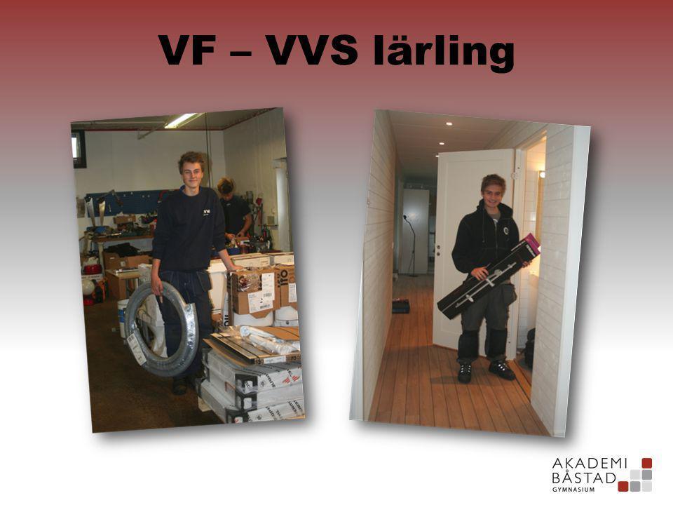 VF – VVS lärling