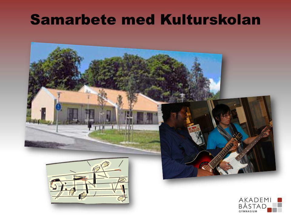Samarbete med Kulturskolan