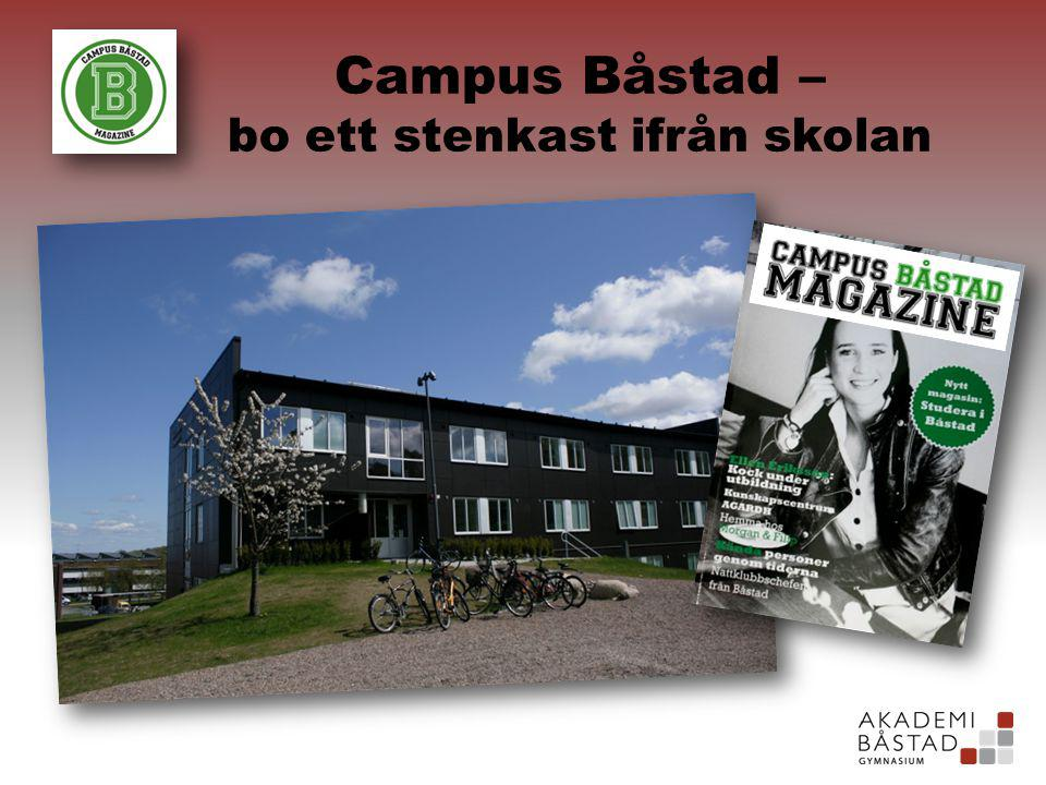 Campus Båstad – bo ett stenkast ifrån skolan