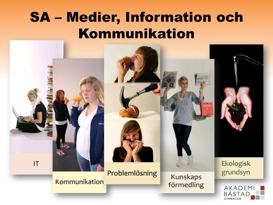 SA – Medier, Information och Kommunikation