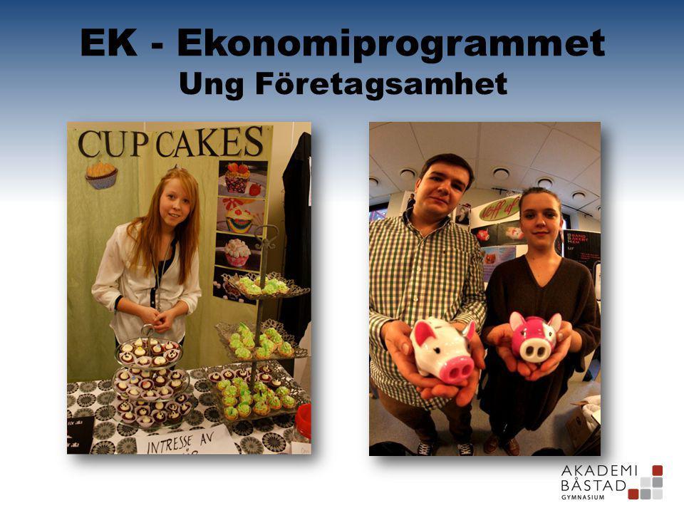 EK - Ekonomiprogrammet Ung Företagsamhet