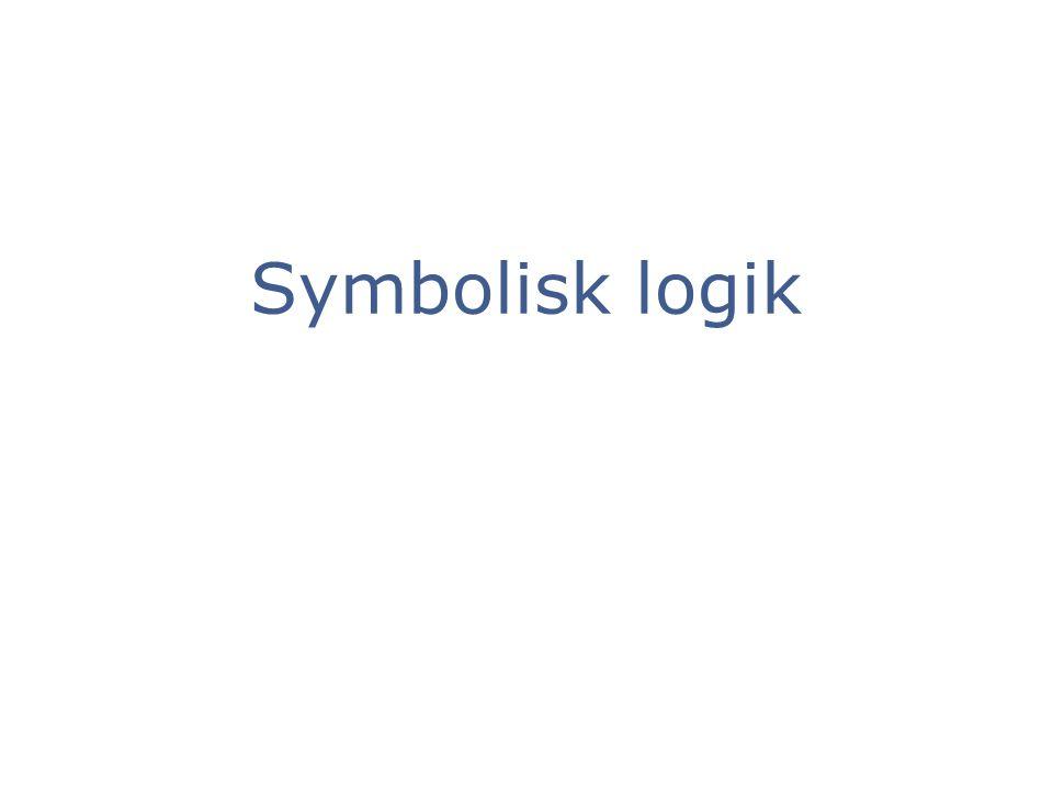 Symbolisk logik