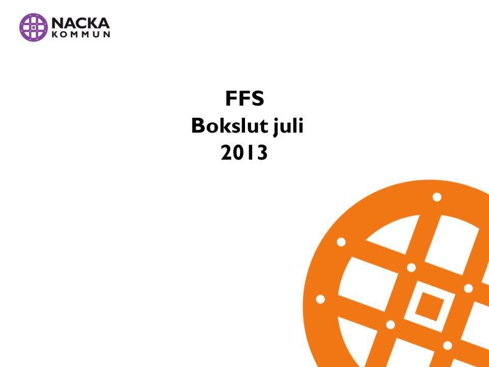 Resultat ekonomi Förskola, Fritid och Skola, FFS, visar för perioden ett ackumulerat utfall om 2,2 mnkr.