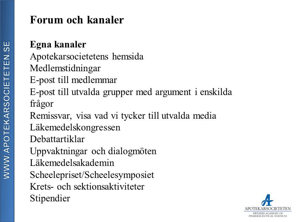 Forum och kanaler Tillsammans med andra Bubbel & Debatt Läkemedelsriksdagen Debattartiklar Uppvaktningar Övriga Mässor Arbetsmarknadsdagar