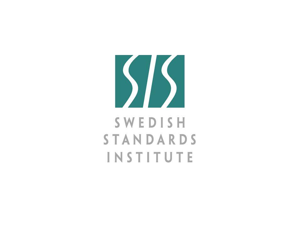 SIS/SG Stanli N838 2007-03-29 Nyttan med standardisering Gatukontorsdagarna, Falun 2009-05-07 Thomas Norlin, Vägverket, ordförande TK320 Henrik Östman, Tekis 2014-12-15 2
