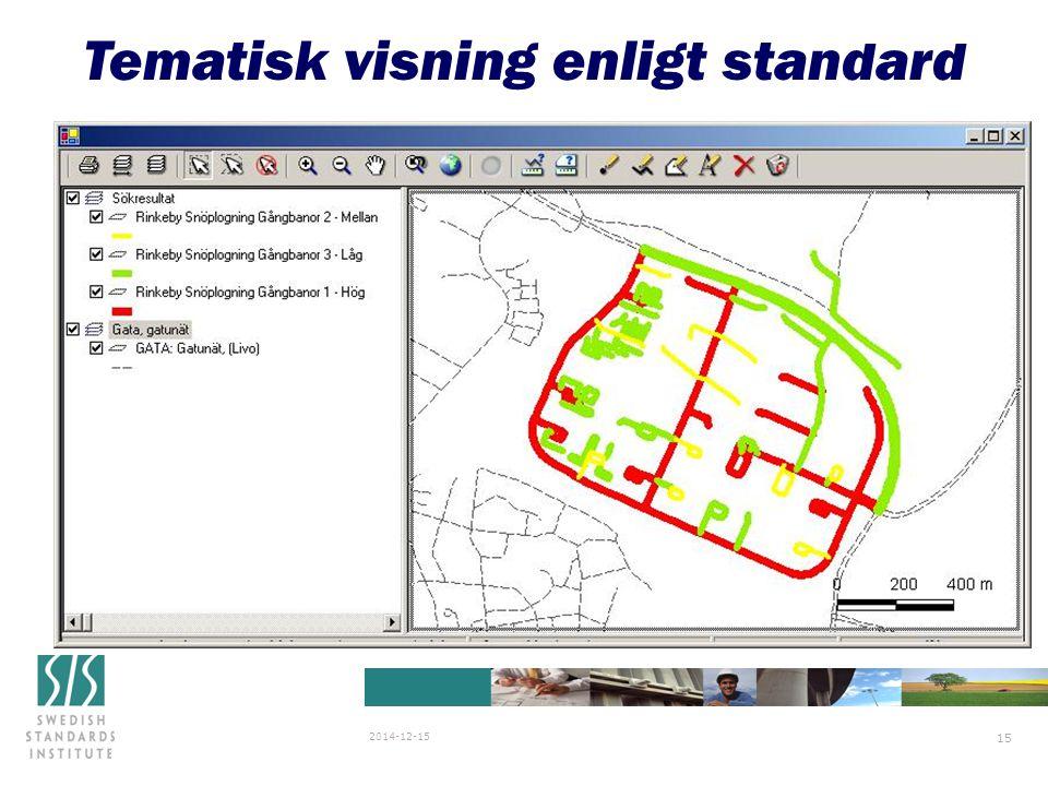 SIS/SG Stanli N838 2007-03-29 2014-12-15 15 Tematisk visning enligt standard