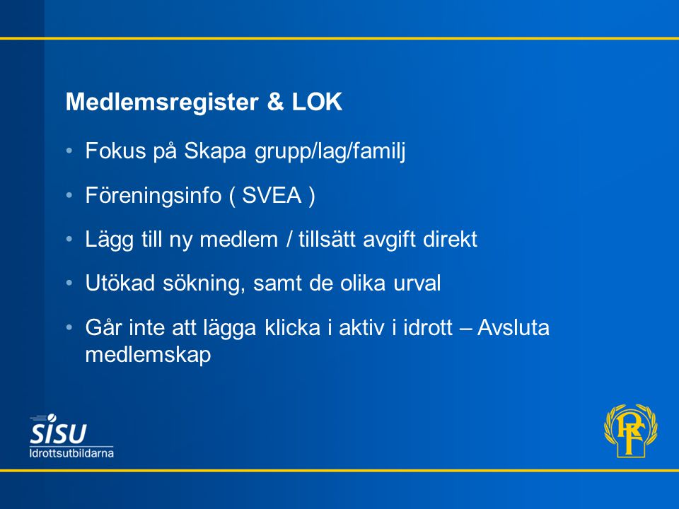 Hemsida Grund / Fortsättning Design 2.0 Responsive Inloggning