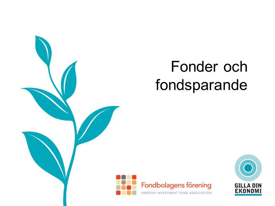 Vad är en fond.En fond är en samling (portfölj) värdepapper utgivna av olika företag.