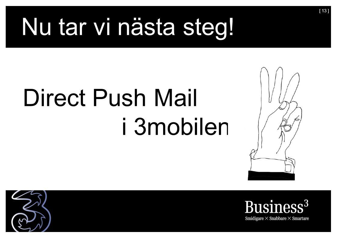 [ 14 ] = Mobil mail till Företagsmarknaden i Sverige.
