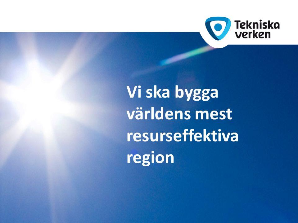 Vi ska bygga världens mest resurseffektiva region