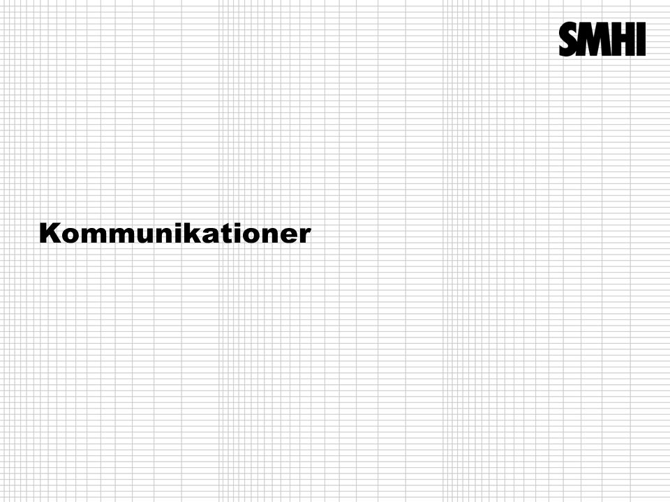 Kommunikationer