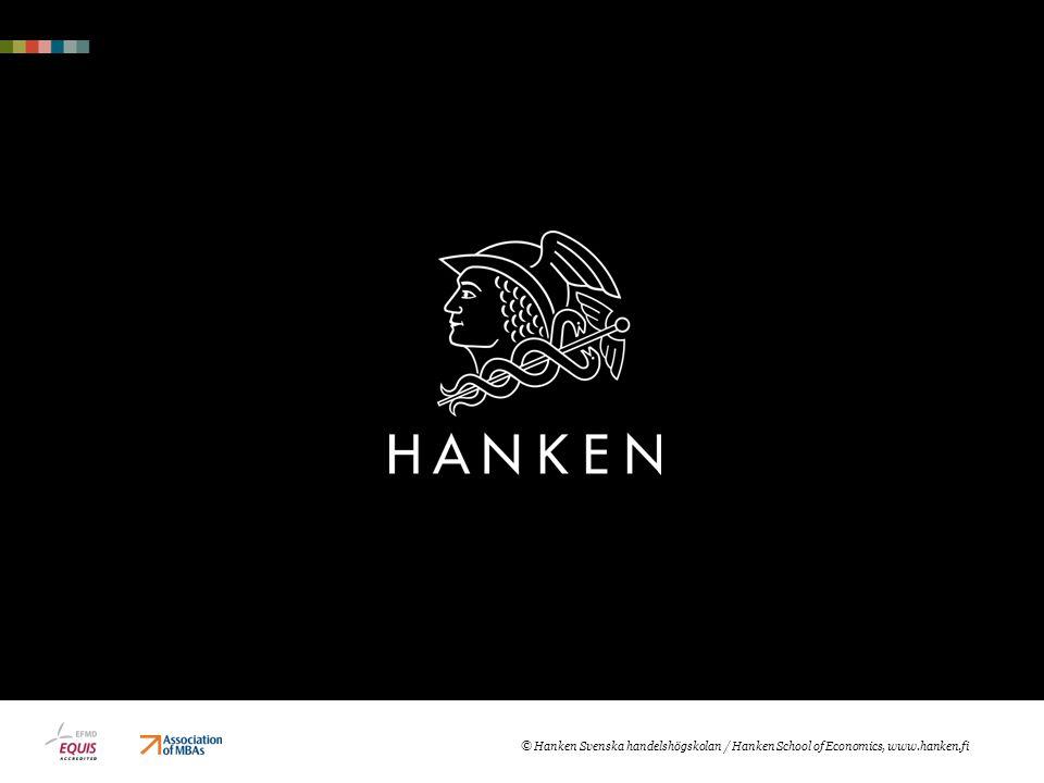 Samarbete  Har grundat Erling Persson Centre for entrepreneurship 7.2.2013  Stöder HankenES o företagskuvösen Tech Start Lab  Med i företagskuvösen Aalto Startup Center
