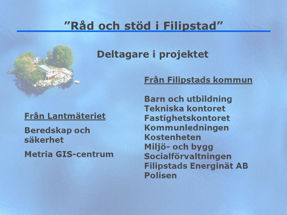 """5 """"Råd och stöd i Filipstad"""" Från Filipstads kommun Barn och utbildning Tekniska kontoret Fastighetskontoret Kommunledningen Kostenheten Miljö- och by"""