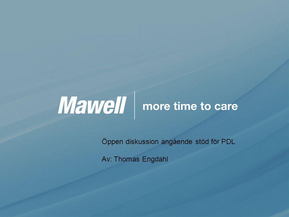 Öppen diskussion angående stöd för PDL Av: Thomas Engdahl