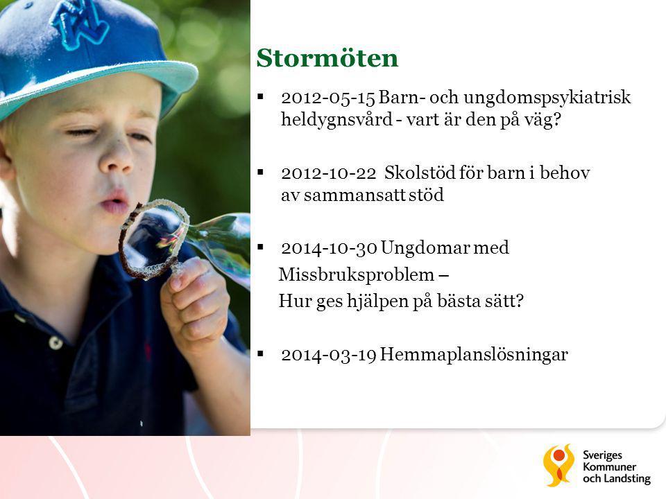  2012-05-15 Barn- och ungdomspsykiatrisk heldygnsvård - vart är den på väg.