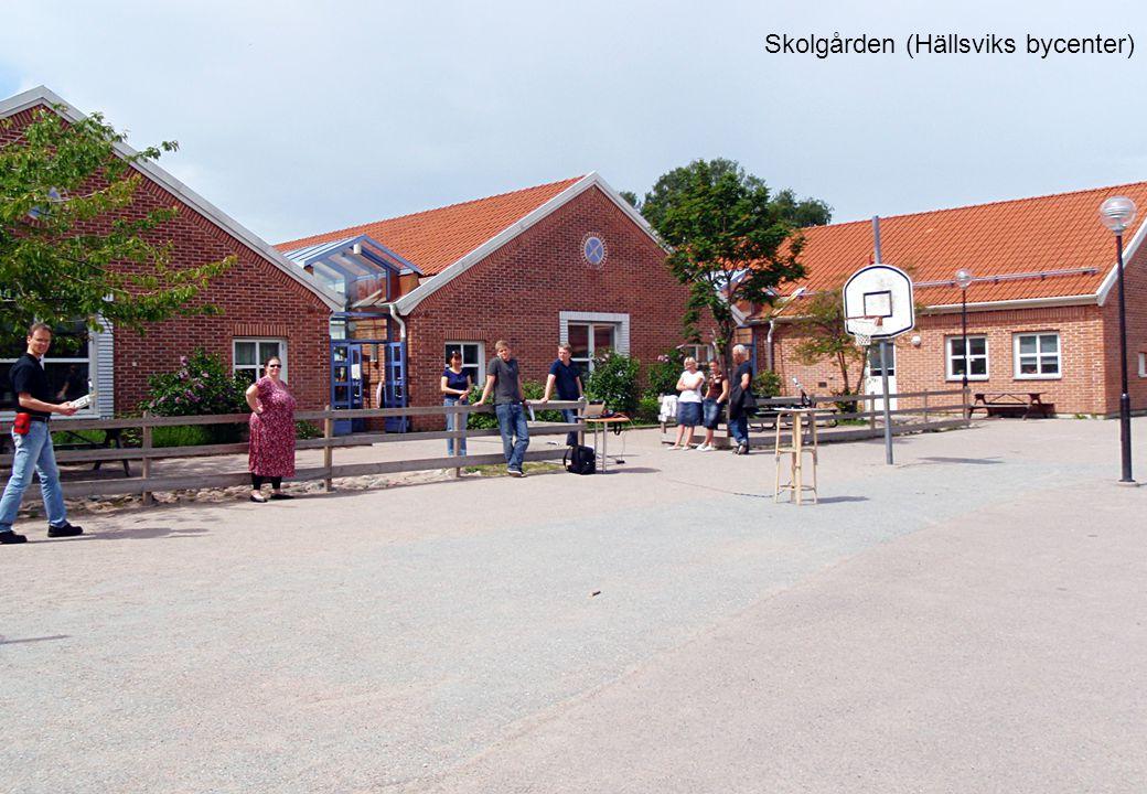 Skolgården (Hällsviks bycenter)