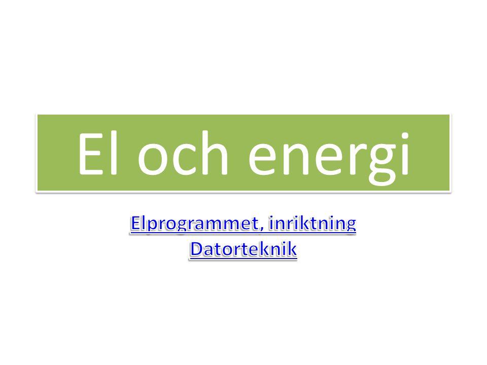 El och energi