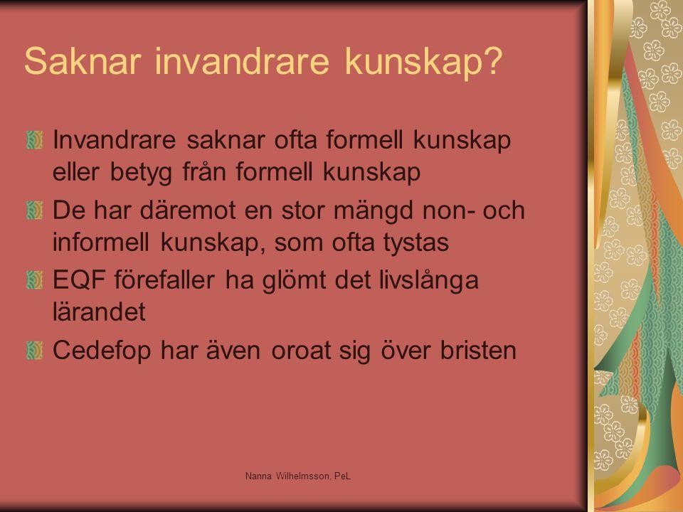 Identitet Gestltning av kunskapen Klassif.av kunsk Värdet av kunsk.