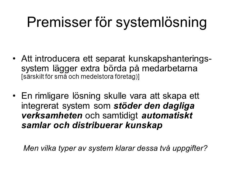 Vilken typ av system.
