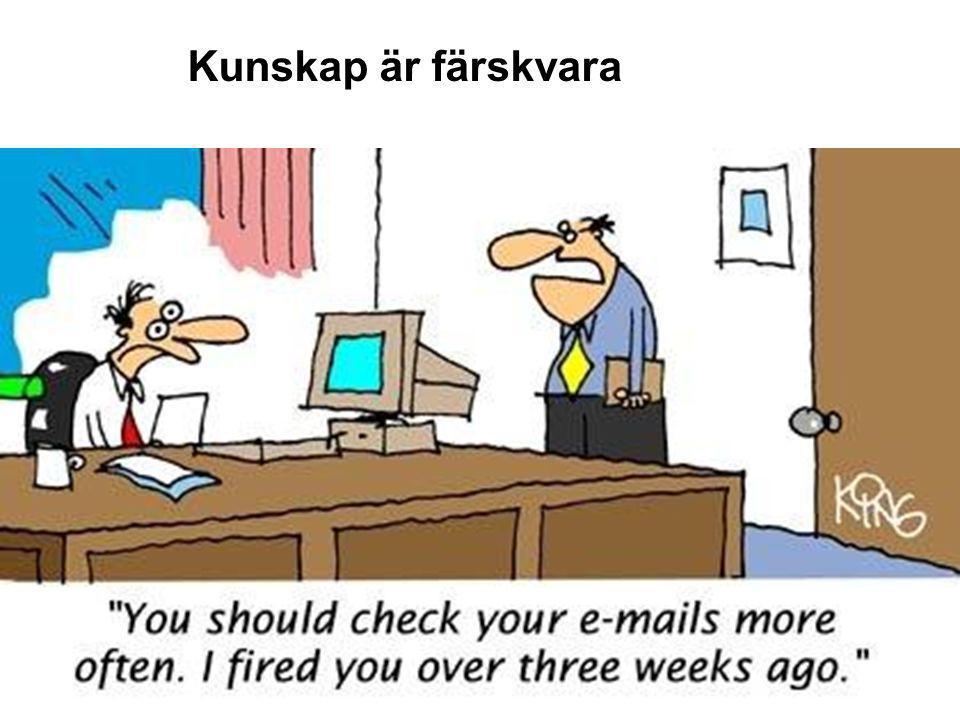 SBU – Kunskapscentrum för hälso- och sjukvården www.sbu.se 2014-12-16Agneta Pettersson, 200636 Kunskap är färskvara