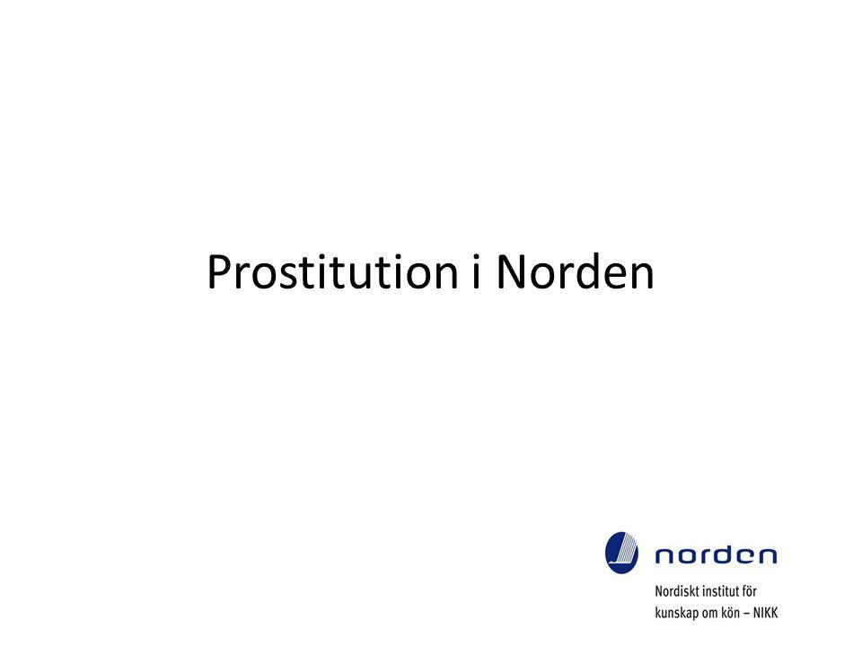 Prostitution i Norden