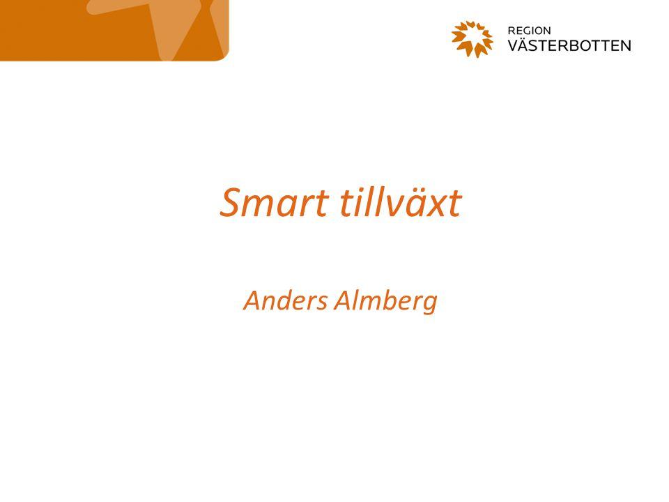 Smart tillväxt Anders Almberg