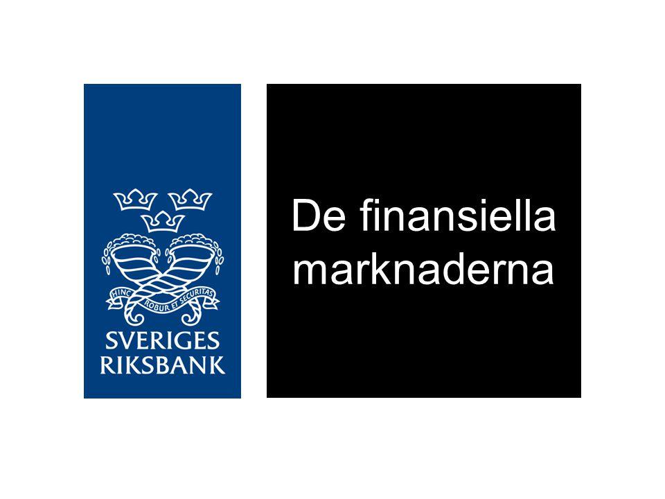 Statligt stöd från Riksbanken och Riksgälden till finansiella institut på den svenska marknaden Miljarder kronor Källor: Riksbanken och RiksgäldenDiagram 1:1