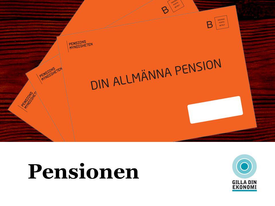 Trygga din ekonomiska framtid Pensionen