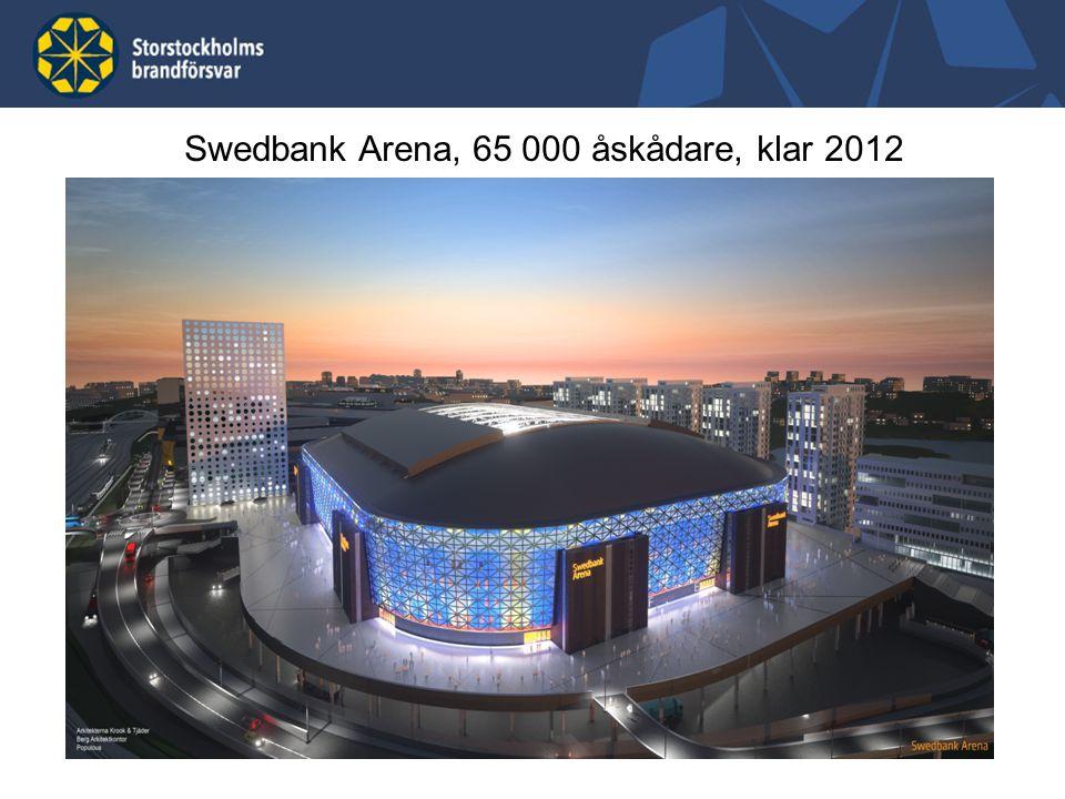 16 Swedbank Arena, 65 000 åskådare, klar 2012